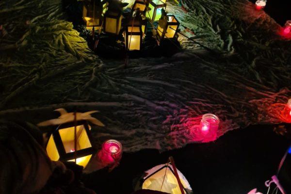 Lichterfest statt Laternenumzug